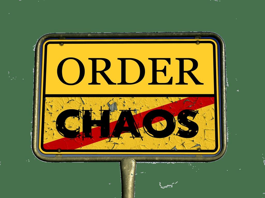 order chaos signpost reorder photos