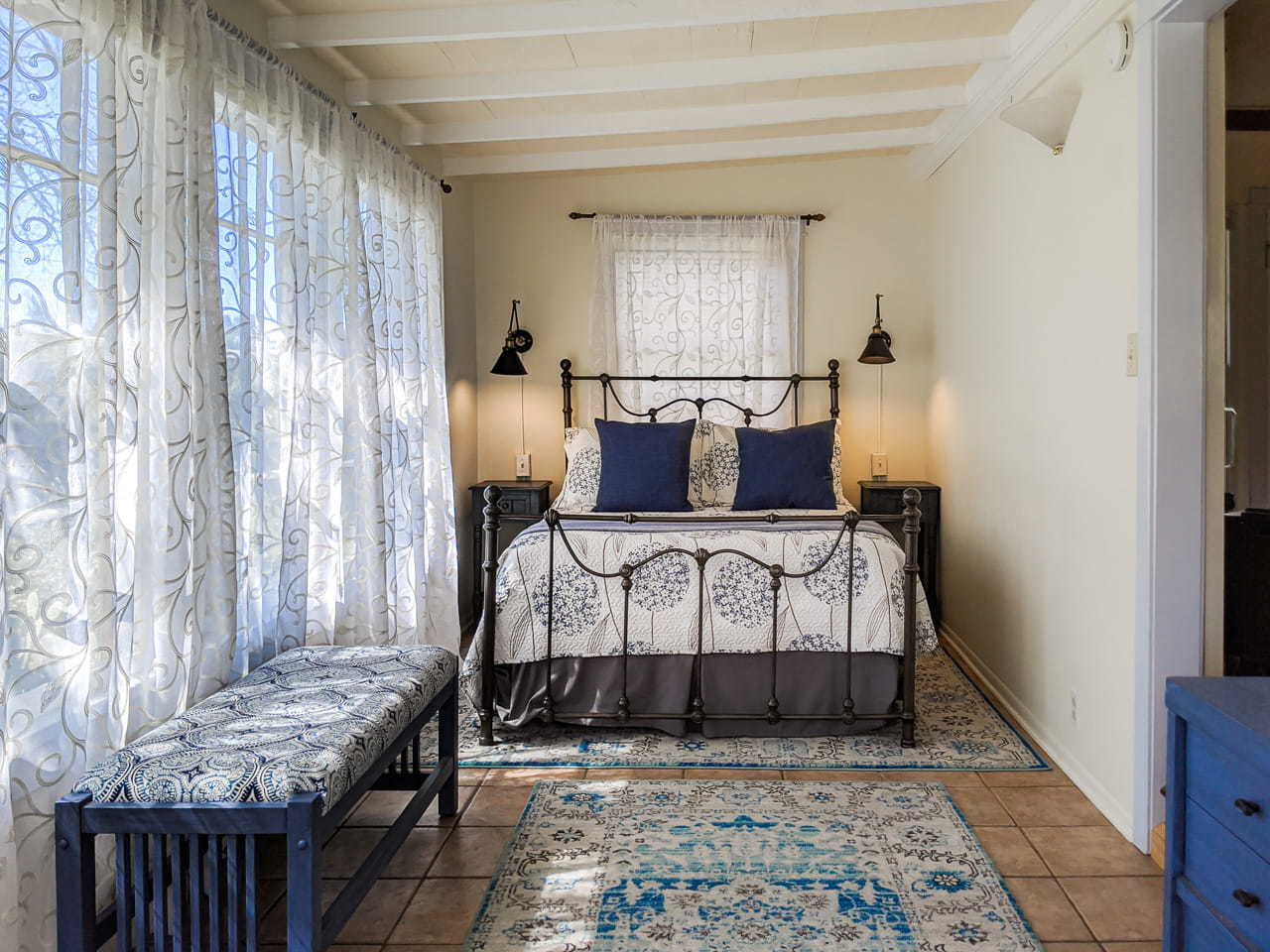 """Done For Your host """"after"""" photo of a bedroom"""