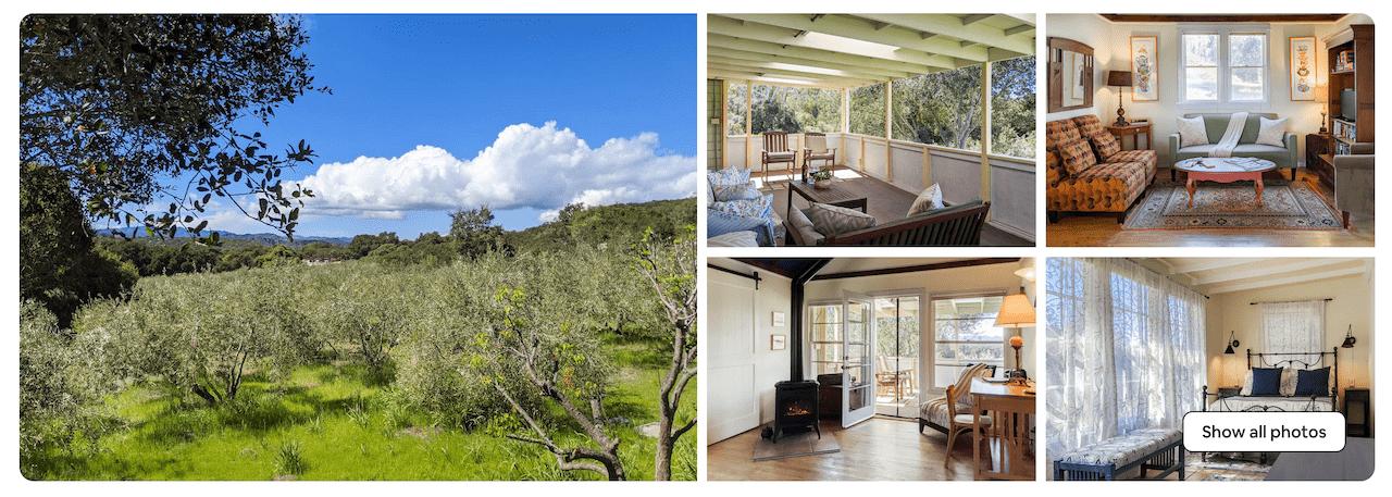Tiber Canyon Airbnb top 5 photos - NEW
